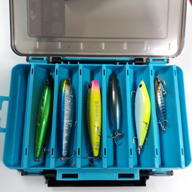 🛍 Двухсторонняя рыболовная коробка Kingdom с 12 отделениями, рыболовные аксессуары, приманка, крючок, чехол для хранения, пластиковые коробки для ...
